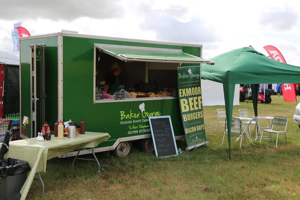 Baker George South Molton Burger Van