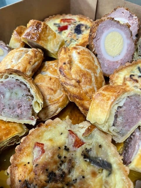 Takeaway pastries South Molton